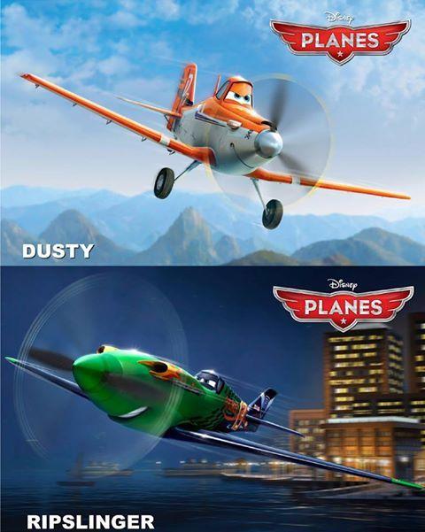disney planes meet dusty