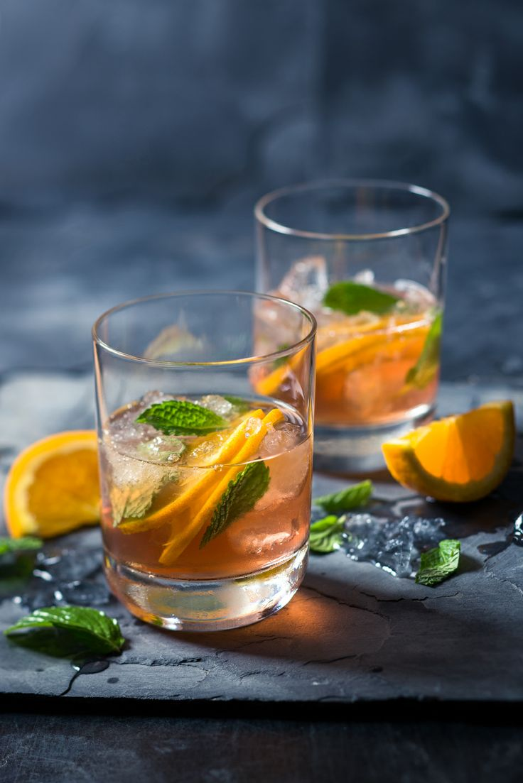#Brandy #cocktails - The #luscious A delightful peach and cranberry cocktail that brings out all the brandy's floral notes. #foodstyling #foodphotography #recipes #drinkideas