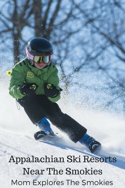 Ski Resorts Near the Smoky Mountains Tennessee vacation