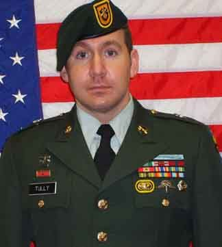 Army Sgt. 1st Class Michael J. Tully  Died August 23, 2007 Serving During Operation Iraqi Freedom  33, of Falls Creek, Pa.; assigned to the 2nd Battalion, 1st Special Forces Group (Airborne), Fort Lewis, Wash.; died Aug. 23 in Baghdad of wounds sustained from an improvised explosive device.