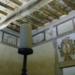 STANZA DEI VESCOVI, Castello di Levizzano Rangone, XVI sec.