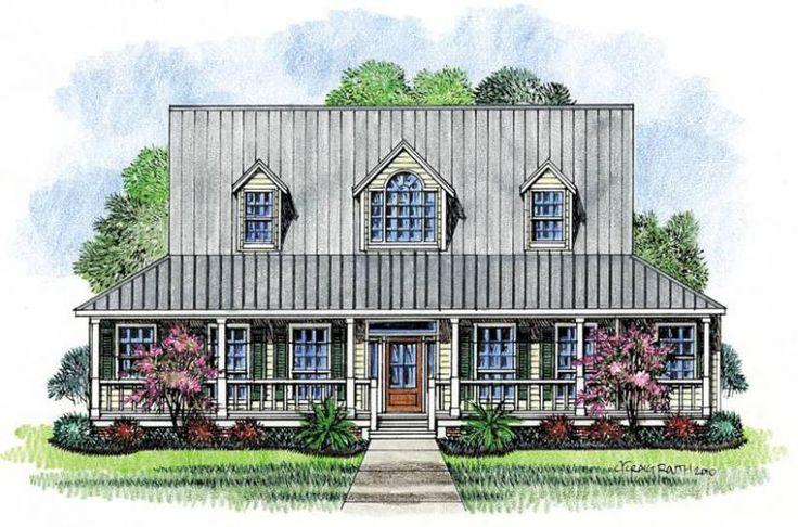 653450 raised cottage 3 bedroom 2 5 bath house plans for Raised cottage house plans