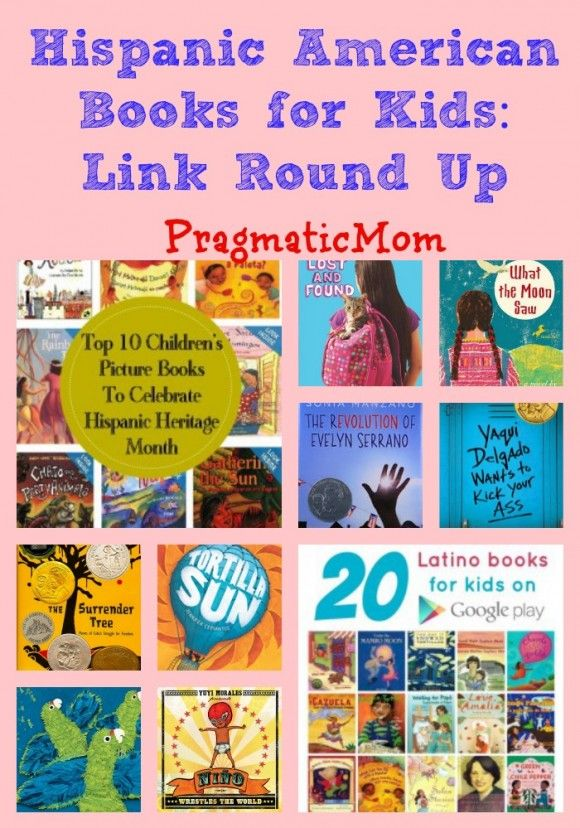 Here's my contribution for the MKB Hispanic Heritage Month Blog Hop; Hispanic American Books for Kids: Link Round Up :: PragmaticMom