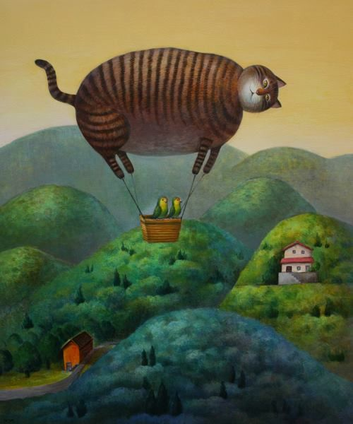 Intriguing images ♨ unusual art photographs paintings illustrations natsuo ikegami