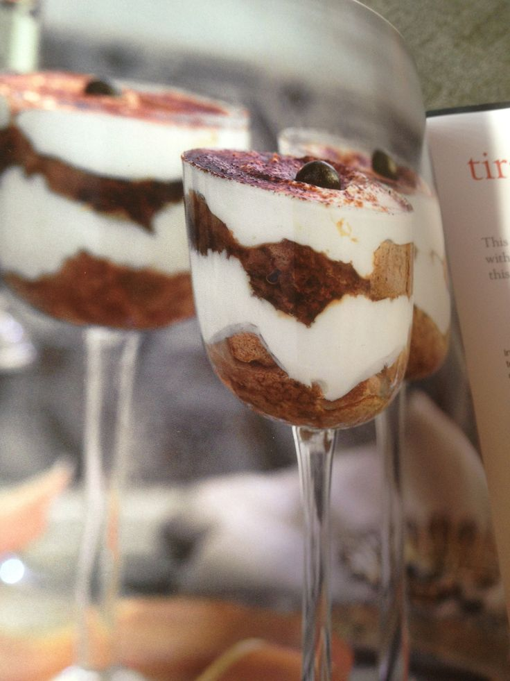 Tiramisu  Slimming world desserts  3 syns each