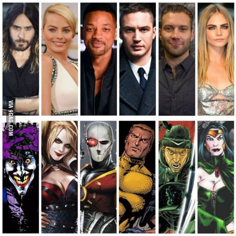 So Warner Bros just announced their Suicide Squad cast lineup