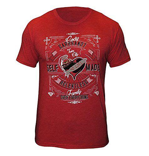 Torque Cody No Love Garbrandt Self-Made Shirt - Red - Medium. 100% cotton. Short sleeve. Super comfortable material. Torque graphics.