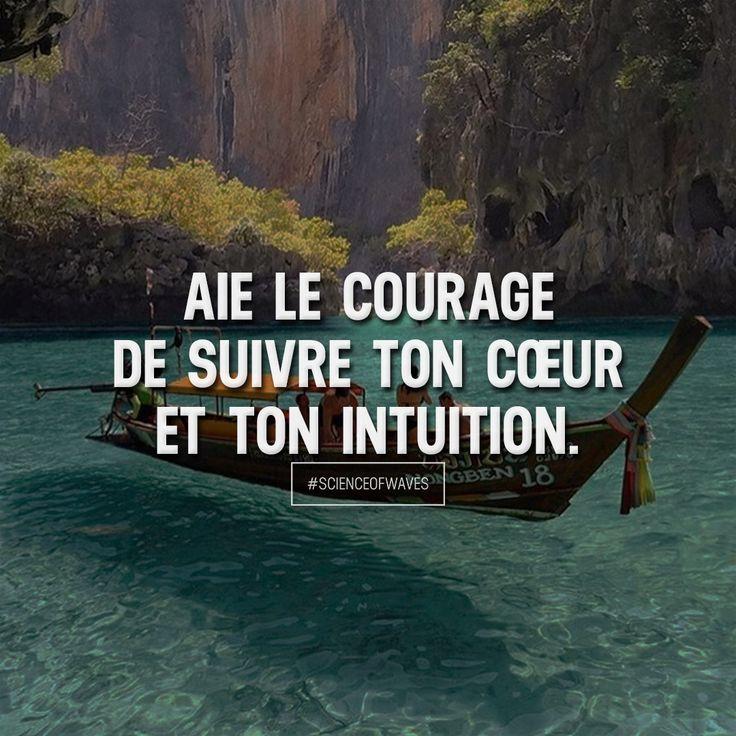 Aie le courage de suivre ton cœur et ton intuition. Aime et commente si tu es d'accord! ➡️ @adillaresh for more!