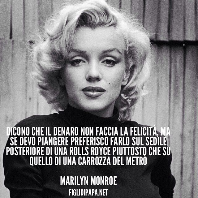 12 best frasi marilyn images on Pinterest | Marilyn monroe, Search ...