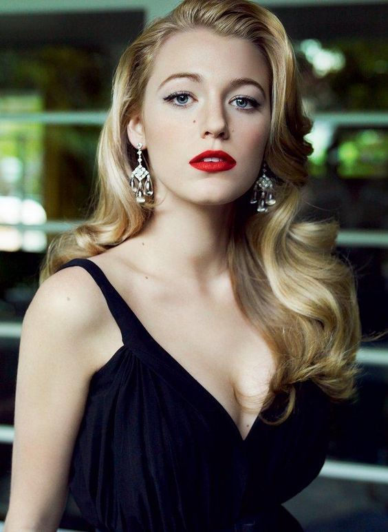 "Blake lively in a vintage look reminds us of her timeless beauty in ""Age of Adaline"""
