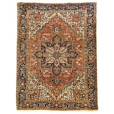 PERSIAN HERIZ colorful and luxury rug design