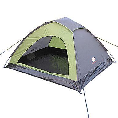 STOR UTOMHUS MONODOME Camping 2 Person Grön Tent – SEK Kr. 278