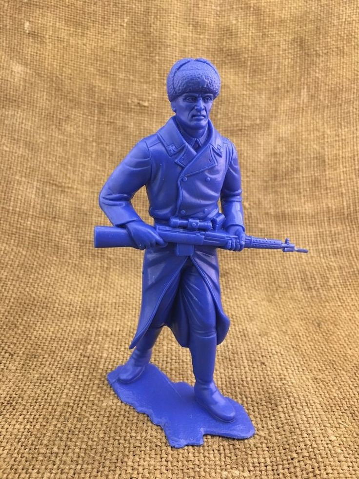 Toy Children's Great Plastic Soldier from the USSR #USSR