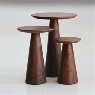Mobital Occasional Pcs Tower Tall End Table WA In Natural Walnut TablesLiving Room