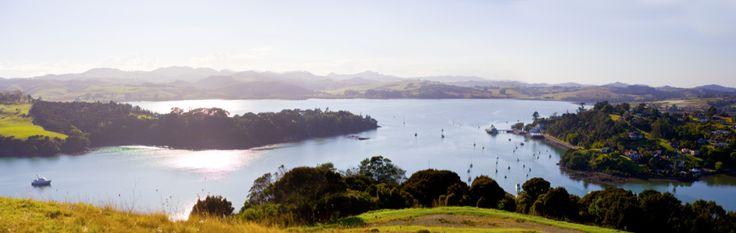 Mangonui Harbour view from Rangikapiti Pa (Doubtless Bay, NZ). copyright © Debra Stratford