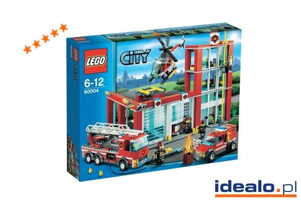 """Ula o zestawie Lego Remiza strażacka (60004): """"Dzięki obrazkowej instrukcji dołączonej do klocków szybko udało nam się wybudować straż pożarną Lego 7208. Przyznam, że nie tylko sześcioletni synek mojej koleżanki miał przy tym świetną zabawę"""". WIĘCEJ: http://www.idealo.pl/opinie/3624732/lego-city-remiza-strazacka-60004.html"""