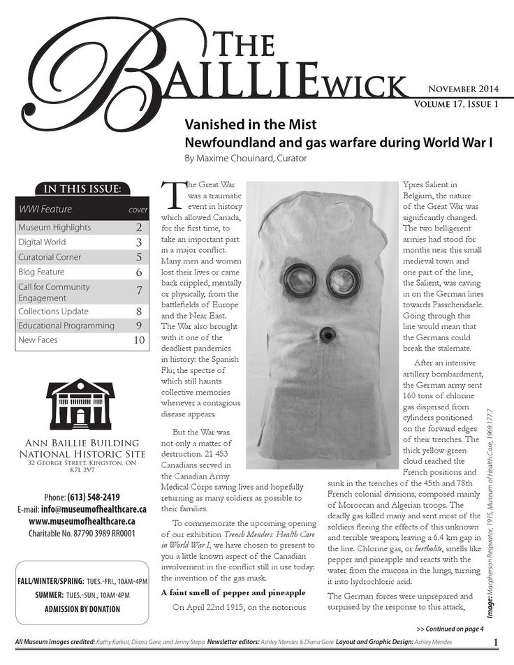 2014 BAILLIEwick Newsletter