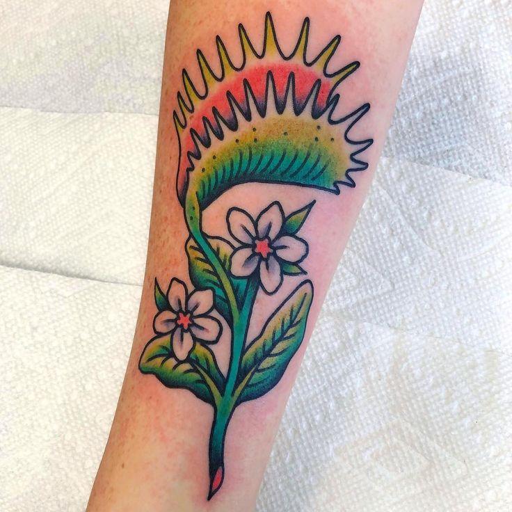 Venus fly trap tattoo Inspirational tattoos, Tattoos