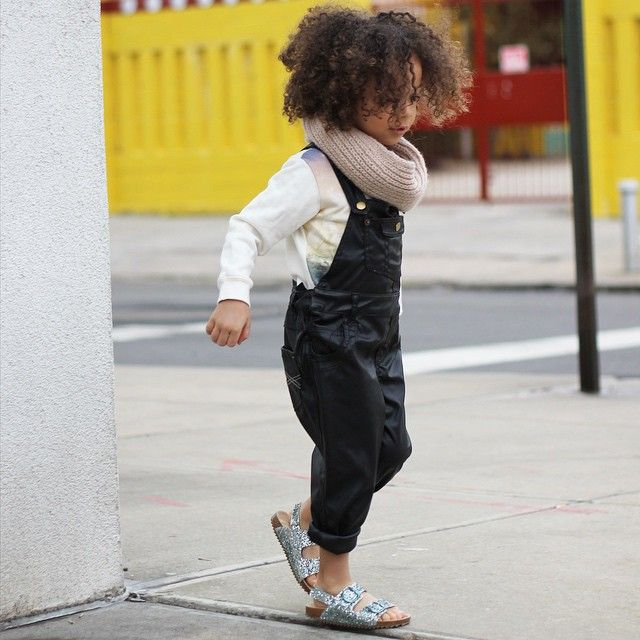 Serious bed hair but casually cool in glitter Birks from zara and leather overalls from @dukeoflondon