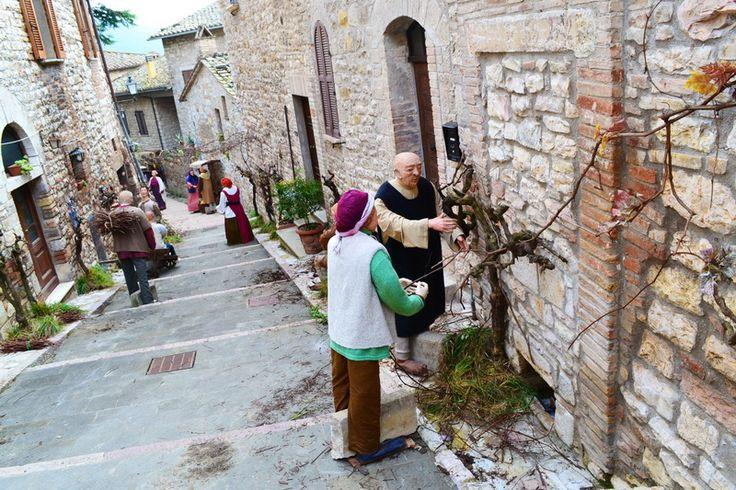 Beautiful Umbria Ru   Рождественское настроение в борго Корчано, Умбрия, Италия http://www.umbriabeautiful.com/sito/ru/?p=296