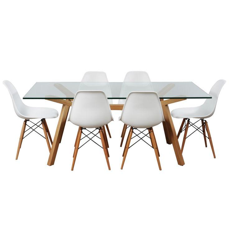 Contempo Dining Package - Wood - Matt Blatt
