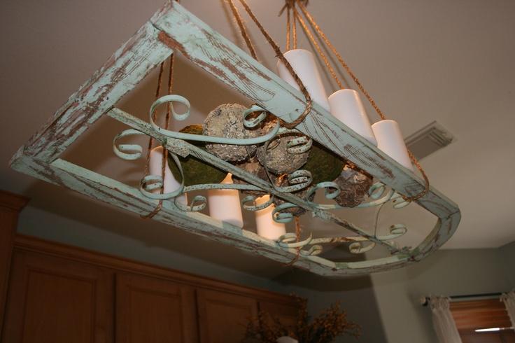 Kitchen Pot Rack Light Fixtures