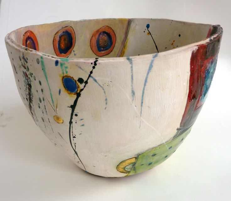 Big open bowl (at Trelissick Gallery) 2012. Linda Styles.