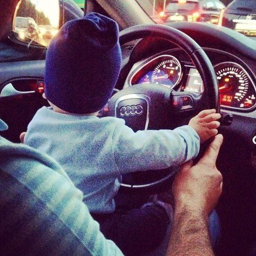 My son getting his licencse