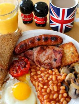 So, this is what a Full English Breakfast looks like...    @visitlondon