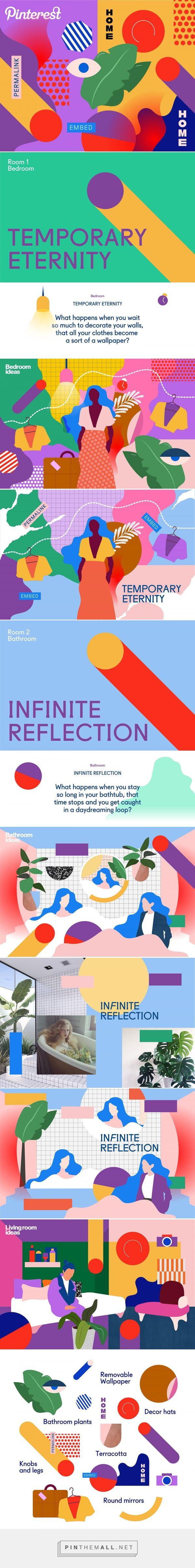 Pinterest Home Trends 2017 Illustrations on Behance - created via https://pinthemall.net