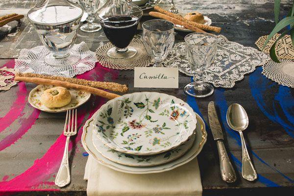 Inspiration shoot: un matrimonio industriale ispirato all'arte | Wedding Wonderland