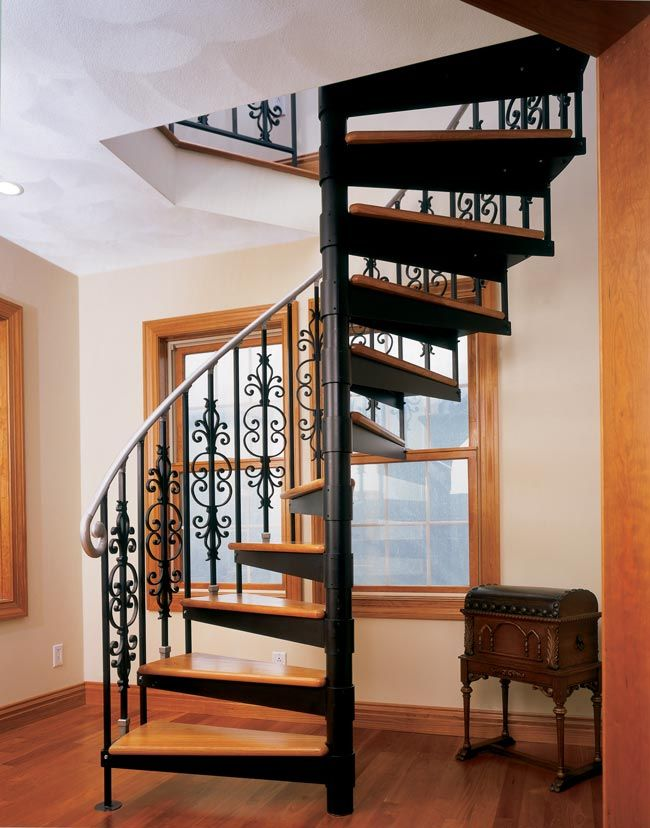 Foyer Staircase Kits : Quot diameter one half turn kit with optional