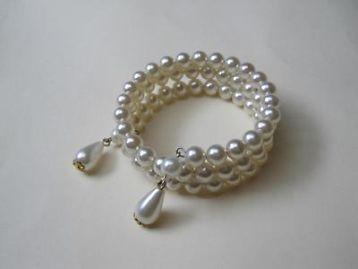 ≥ Armband met parelkralen 17.5 cm. variabel. - Antieke sieraden - Marktplaats.nl
