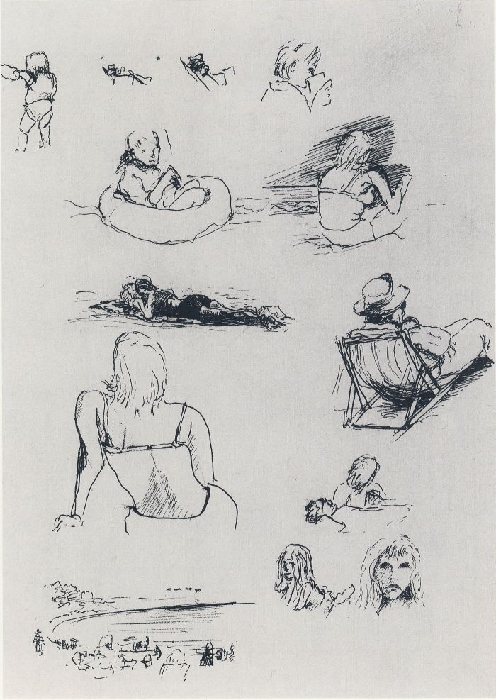 The Art of Ofey: Richard Feynman's Sketches and Drawings | Brain Pickings