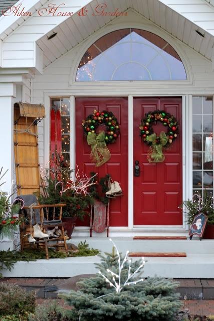 double door for christmas