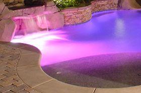 Foco RGB LED para piscina de 25W