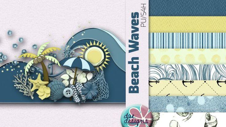 Beach Waves by Dae Designs