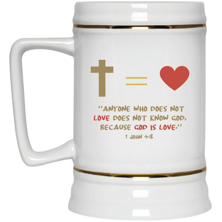 Anyone Who Does Not Love Not Know God, Because God Is Love (1 John 4:8)