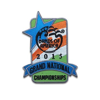 BOA 2015 Bands of America Grand National Patch