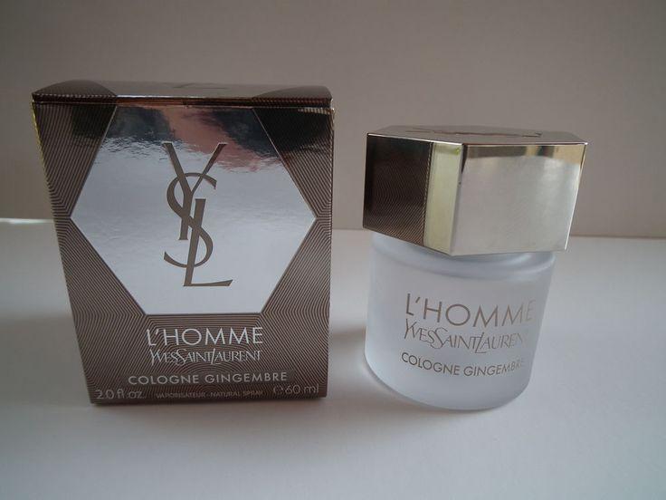 Yves Saint Laurent YSL L'Homme Cologne Gingembre Eau de Cologne Spray 60 ml #YvesSaintLaurent