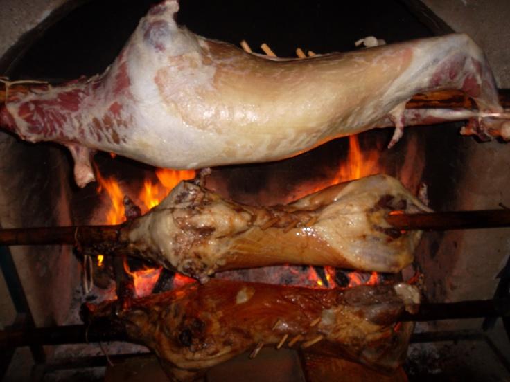 Türk usulu kuzu çevirme