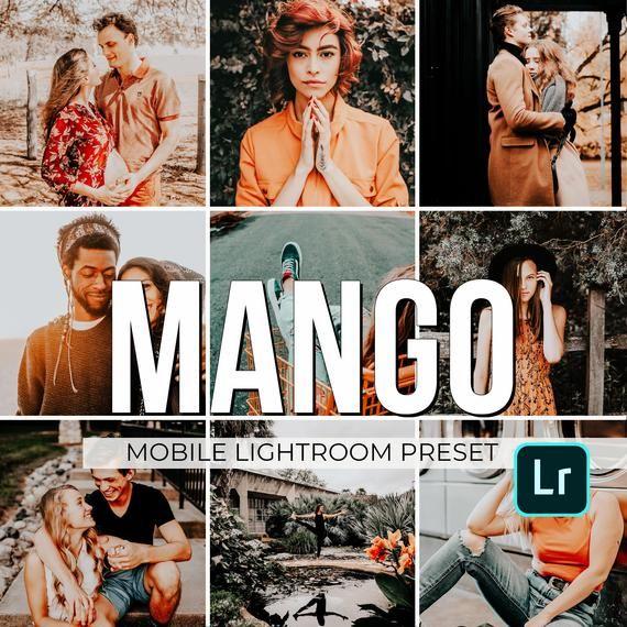 Mobile Lightroom Preset Mango Modern Blogger Preset For Iphone Android Orange And Tea Lightroom Presets Portrait Lightroom Presets Photo Editing Techniques