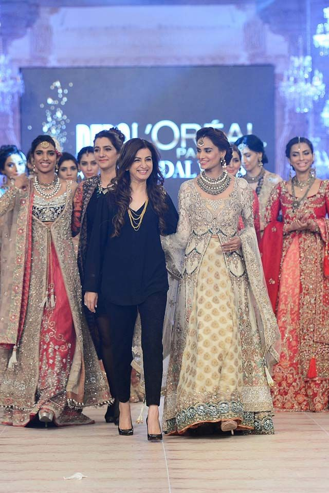 PFDC L'Oréal Paris Bridal Fashion Week 2014-2015 Latest Collections of Popular Pakistani Designers | GalStyles.com