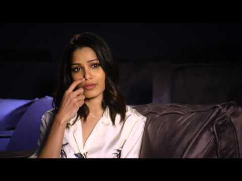 """Knight of Cups Freida Pinto - """"Helen"""" Interview - Future Previews"""