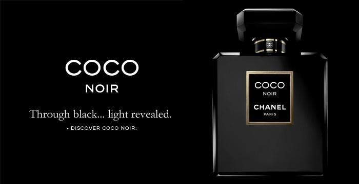 Coco Noir Chanel: Dal Nero nasce la Luce…L'ultimo profumo di casa Chanel ispirato dalla stessa Coco durante la sua permanenza a Venezia, ha un' essenza fresca, speziata nelle note di vaniglia, muschio, sandalo e patchouli. Una fragranza per la donna seducente e misteriosa, presente in ognuna di noi… Costo €91.00 per il 30 ml.