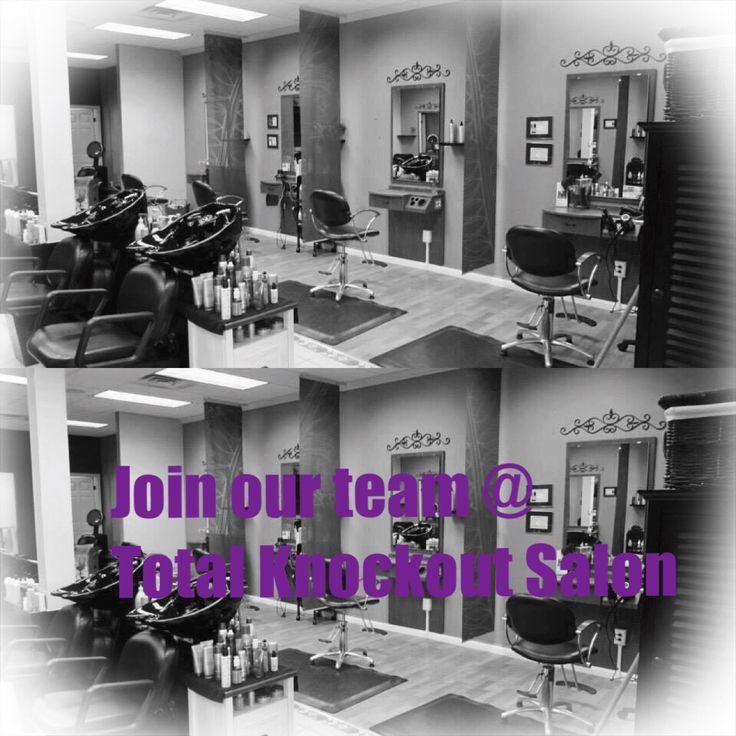 Join our salon lindsey@totalknockoutsalon.com