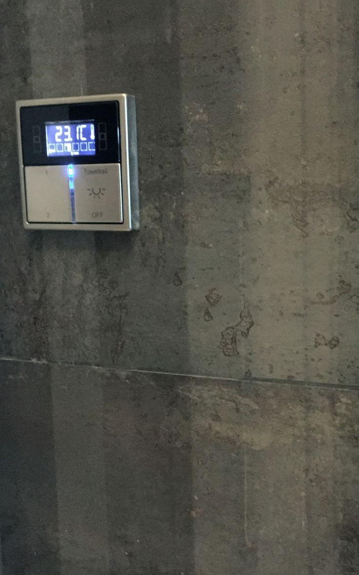 26 best jung smart radio images on pinterest communication control system and hotel door. Black Bedroom Furniture Sets. Home Design Ideas