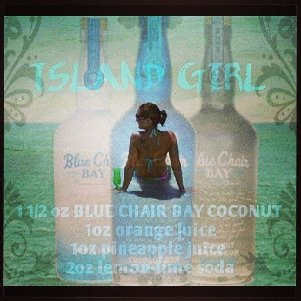 Photo By Delana2020 My New Favorite Rum By Kenny :) Blue Chair Bay. And