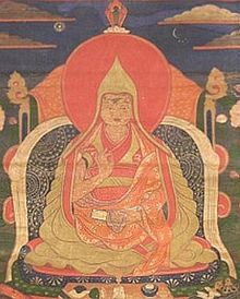 "The Dalai Lama /ˈdɑːlaɪ ˈlɑːmə/is a reincarnated lama of the Gelug or ""Yellow Hat"" school of Tibetan Buddhism, founded by Tsongkhapa (1357–1419). The 14th and current Dalai Lama is Tenzin Gyatso, recognized since 1950."