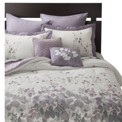 Westwood 8 Piece Bedding Set - Purple Maybe too girly for both of us...